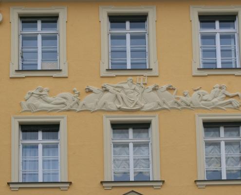 Denkmalschutz-Fassade renovieren in München von MalTec Malerbetrieb